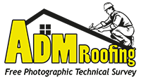 ADM Roofing Logo