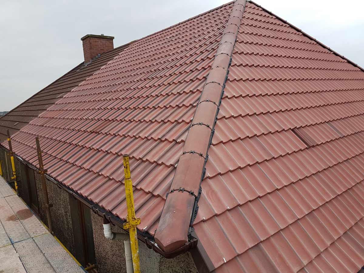 Tiled Roofing Roof Tiling Adm Roofing Ltd